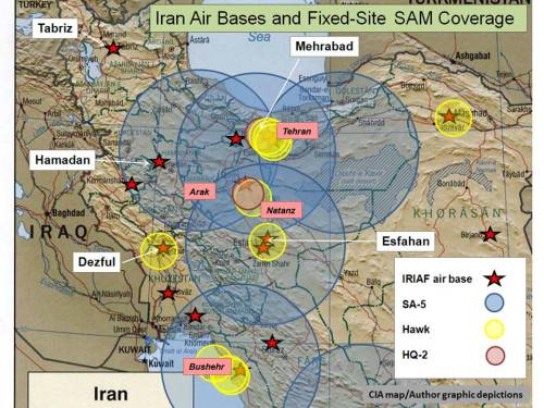 Author graphic; with acknowledgment to www.scramble.nl/ir.htm and geimint.blogspot.com/2007/09/iranian-sam-network.html