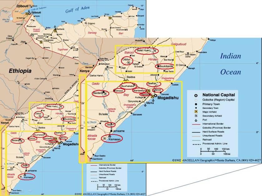 Long War Journal Map see www.longwarjournal.org/archives/2008/08/al_qaedalinked_shaba.php