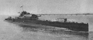 French submarine-cruiser Surcouf; Wikimedia Commons