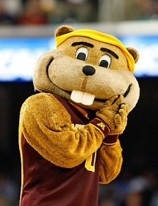 Goldy the Golden Gopher