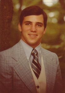 Mark's senior picture from high school, 1979