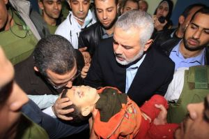 Child killed by Hamas rocket (not by IDF).