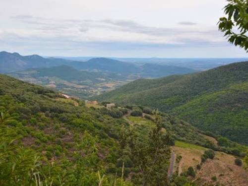 Seriously, would you put a wind farm here? (View of Ferrieres-Poussarou looking toward the Mediterranean Sea.  Photo credit: RussP)