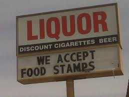 Food Stamps Sign SNAP