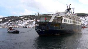 Ex-Lyubov Orlova leaving Newfoundland in Jan. (CBC photo)