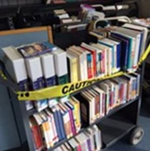 They have protocols for this. (Photo courtesy San Francisco Main Library and The San Francisco Examiner)