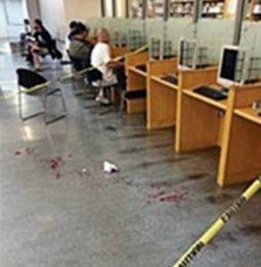 When chairs attack. (Photo courtesy San Francisco Main Library and The San Francisco Examiner)