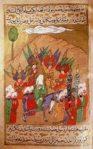 Marching on Mecca in 630 (Siyer-i Nebi from Life of the Prophet, 1595)