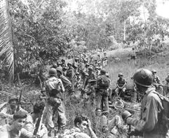 Marines on Guadalcanal in 1942 (US Navy photo #80-G-20683, National Archives)