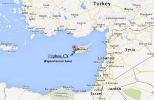 Russia arm-wrestles the US for an air base on Cyprus.