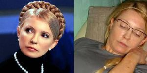 Yulia Tymoshenko in politics...and in prison.