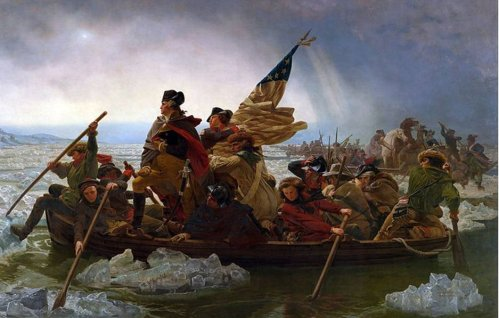 Washington Crossing the Delaware (Emanuel Leutze, 1851)