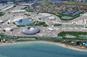 The Olympic village in Sochi.