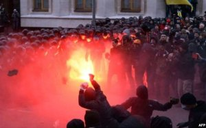 Protests in Ukraine, 21 January 2014 (AFP image)