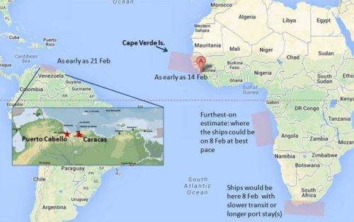 Google map; author annotation. (Insert credit: Orbat.com)