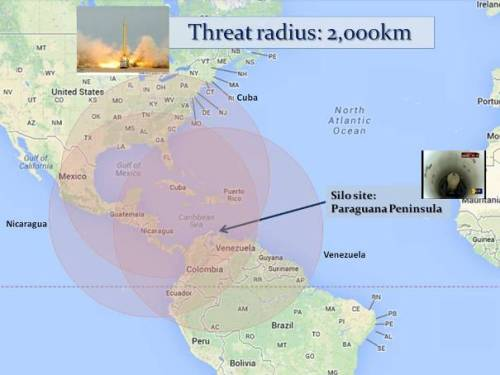 Shahab-3 MRBM threat ranges from different launch locations. (Google map; author annotations.)