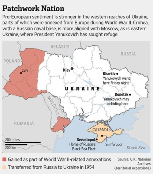 Map via Wall Street Journal
