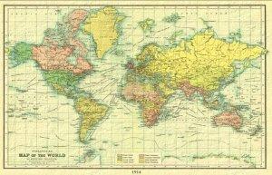 Back map 1914