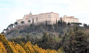 The monastery at Monte Cassino today. (Author photo.)