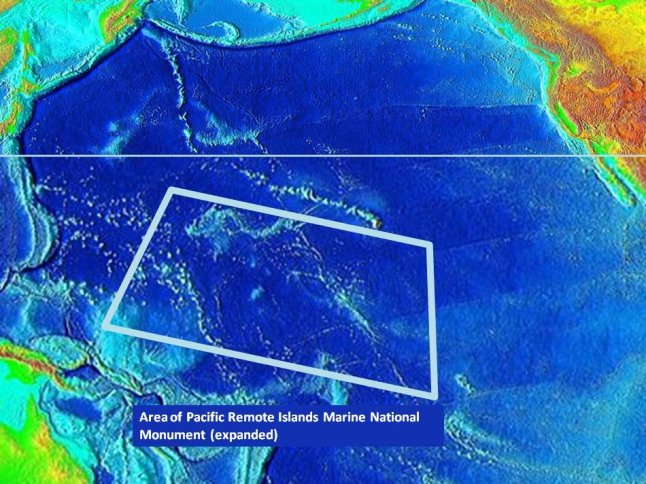 Obama's 'marine protected area' expansion: On a collision ... Pacific Ocean Underwater Map