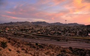 It's just right there.  Ciudad Juarez viewed from El Paso. (Image via Latin America News Dispatch)