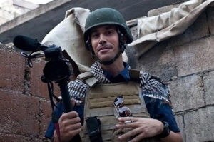 James Foley in action.