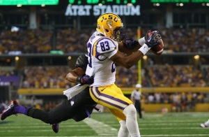 LSU's Travin Dural strikes a professional pose. (Image via Black Sports Online)