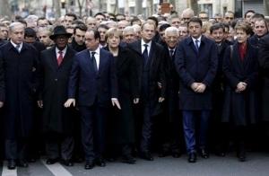 Solidarity. (Image: Reuters, Philippe Wojazer)