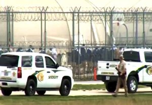 Negotiating parties at Willacy County Correctional Center.