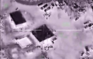 Back in the air again.  Tactical drone footage from 2008. (Image via Diamondmind50, YouTube video)
