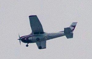 Cessna 182 N859JA over McLean, VA in July 2014. (Image: liveandietpie via imgur!, Reddit)