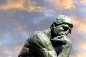 "Auguste Rodin's ""The Thinker."" (Image via bigthink.com)"